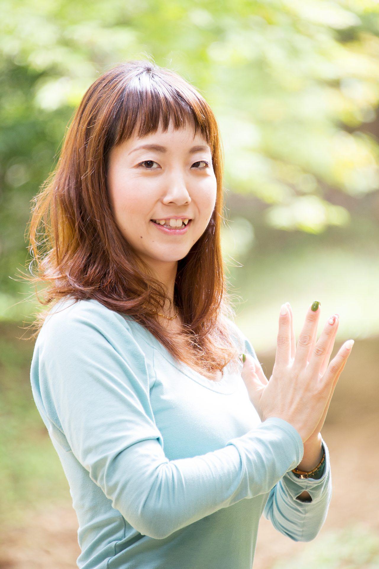 ヨーガスタジオココカラ北九州水島知乃歩プロフィール水島知乃歩プロフィール2