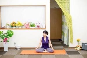 子連れヨガ北九州ココカラ新月の瞑想ヨガ