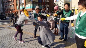 北九州ココカラヨーガスタジオゴミ拾いヨーガ10