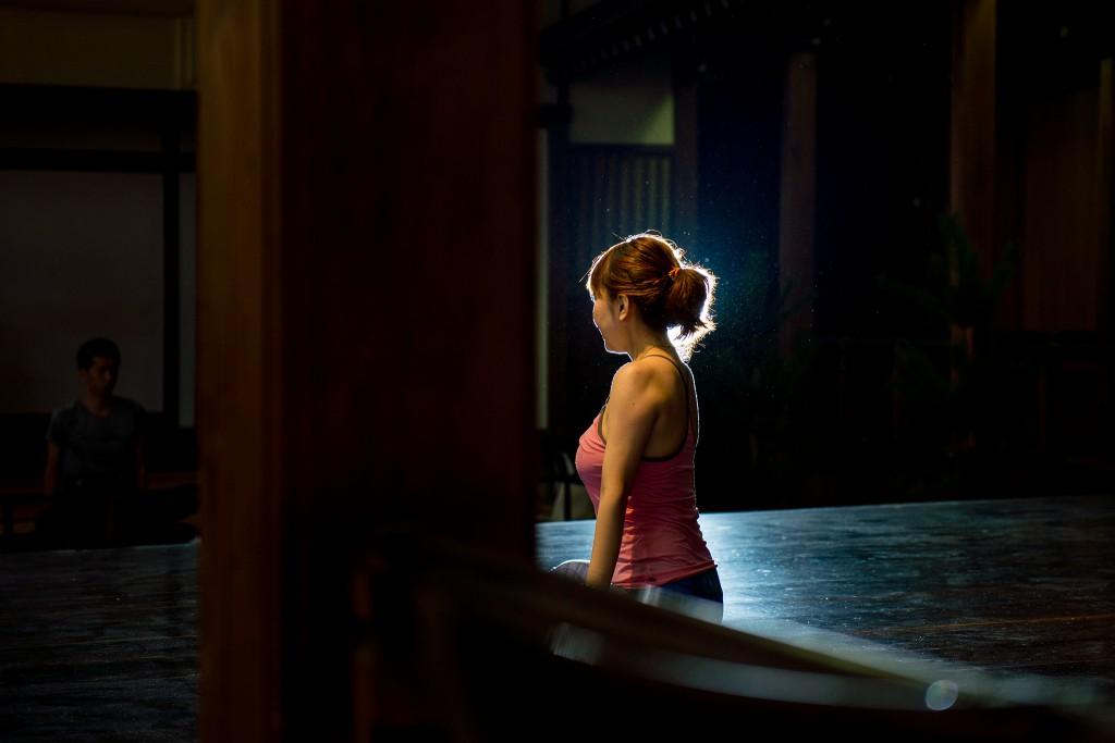 北九州市のヨガスタジオ、ココカラ。新月の瞑想ヨガ。