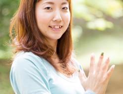 北九州市のヨガインストラクター養成、育成家、なりたい自分になる講演家水島知乃歩