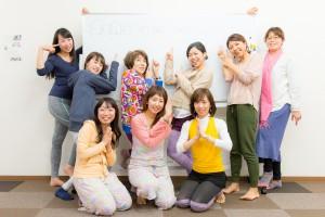 北九州市ヨガスタジオココカラ中央町八幡東区ヨガ講師育成講座